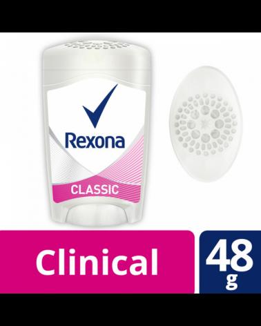 REXONA WOMEN DESODORANTE SOFT SOLID CLASSIC 12X48G Rexona - 1