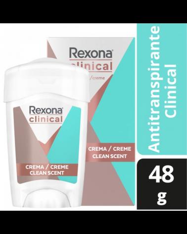 REXONA WOMEN DESODORANTE SOFT SOLID CLEAN SCENT 12X48G Rexona - 1