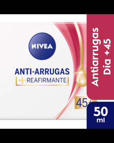 NIVEA Facial Anti-Arrugas 45+ Crema de día reafirmante 50 ml Nivea - 1