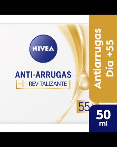 NIVEA Facial Anti-Arrugas 55+ Crema de día revitalizante 50 ml Nivea - 1