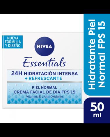 NIVEA Facial Crema de Día + Refrescante  FPS 15 50 ml Nivea - 1