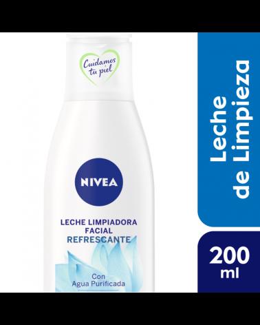 NIVEA Facial Leche Limpiadora Piel Normal 200 ml Nivea - 1