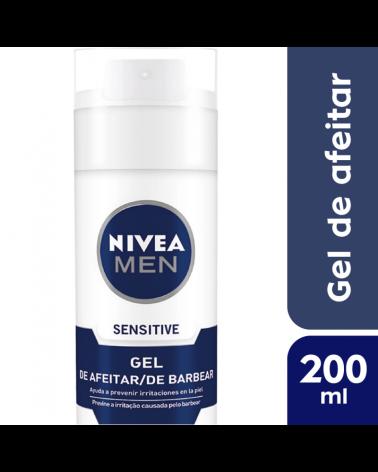 NIVEA  Men Gel de Afeitar Sensitive 200ml Nivea - 1