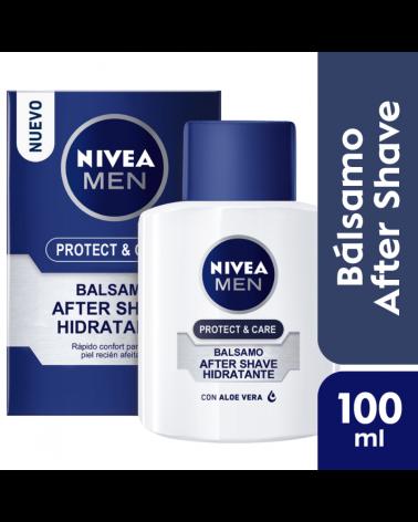 NIVEA Men Bálsamo After Shave Hidratante Protect & Care 100ml Nivea - 1