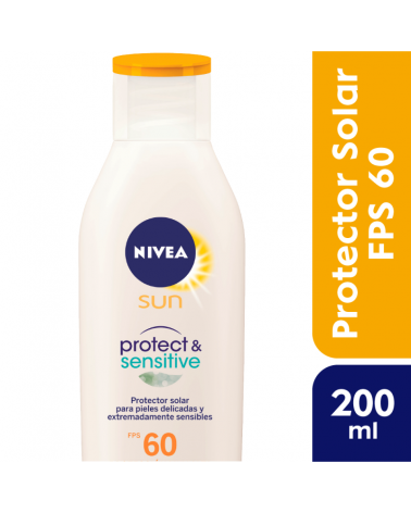 NIVEA Sun Protect & Sensitve FPS 60 200ml Nivea - 1