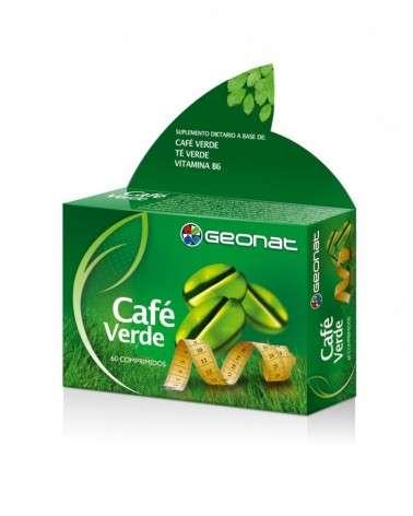 Geonat Cafe Verde 60 Comp Quemador De Grasa Provefarma - 1