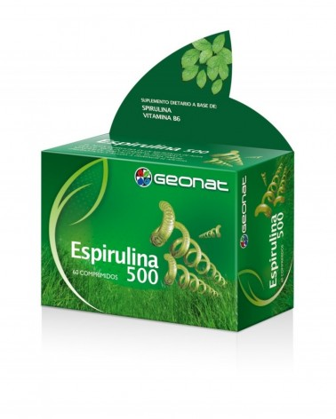 Espirulina 500 Mg X 60 Comp. Provefarma - 1