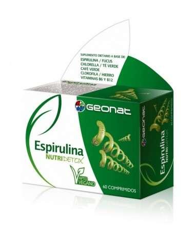 Espirulina Nutridetox X 60 Com Provefarma - 1