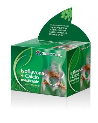 GEONAT ISOFLAVONAS CALCIO MASTICABLE X 60 COMPRIMIDOS Provefarma - 1