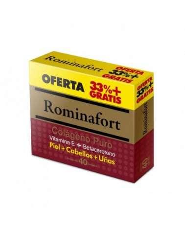 Suplemento Rominafort Colágeno Puro Oferta 33% + Gratis x40 comprimidos Provefarma - 1