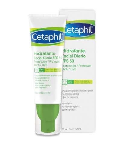 Cetaphil - Hidratante facial diario FPS 50 - 50ml Cetaphil - 1