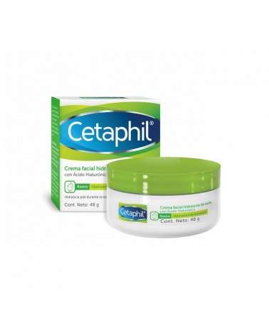 Cetaphil - Crema hidratante de noche con Ácido Hialurónico - 48gr Cetaphil - 1