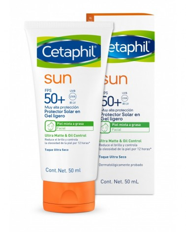 Cetaphil Sun - Ultra Matte & Oil Control FPS 50+ Sin color Cetaphil - 1