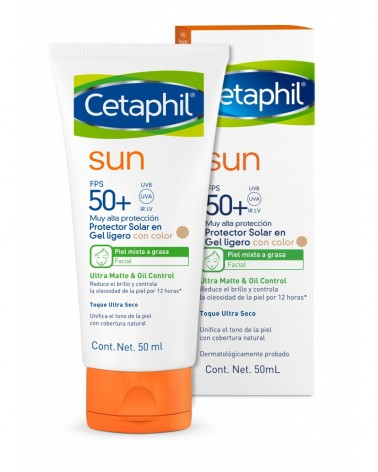 Cetaphil Sun - Ultra Matte & Oil Control FPS 50+ Con color Cetaphil - 1