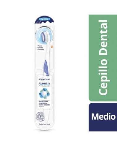 Sensodyne Complete Protection Cepillo Dental Protección Para Dientes Sensibles Y Encías, Medio Sensodyne - 1
