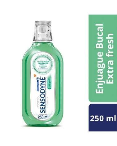 Sensodyne Extra Fresh Enjuague Bucal para dientes sensibles Aliento Fresco, 250 ml Sensodyne - 1