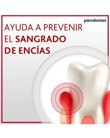 Parodontax Blanqueador, Pastal Dental Para Ayudar A Prevenir El Sangrado De Encías, 116 G Parodontax - 3