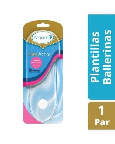 Plantillas Active Gel Ballerinas Amopé X2U (Un Par) Amopé - 1