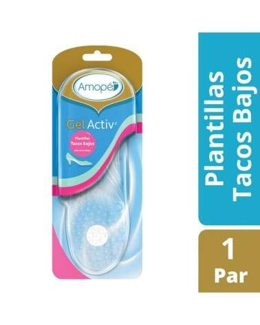 Plantillas Active Gel Tacos Bajos Amopé X2U (Un Par) Amopé - 1