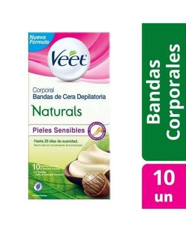 Bandas Depilatorias Corporales Naturals Veet 10U Veet - 1
