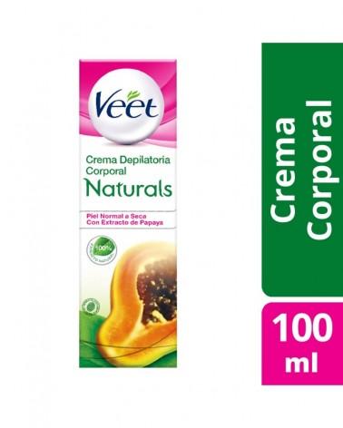Crema Depilatoria Corporales Piel Normal A Seca Veet Naturals 1U Veet - 1