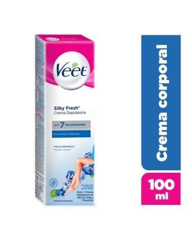 Crema Depilatoria Corporales Piel Sensible Veet Silk&Fresh 1U Veet - 1