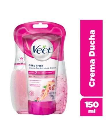 Crema Depilatoria De Ducha Piel Normal Veet Silk&Fresh 1U Veet - 1