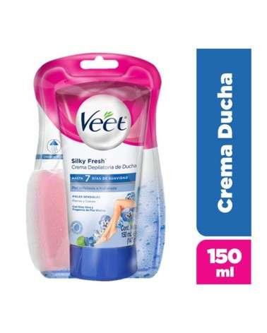 Crema Depilatoria De Ducha Piel Sensible Veet Silk&Fresh 1U Veet - 1
