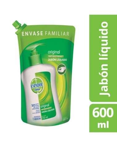 Jabón Liquido Antibacterial Original Espado Dettol 600Ml Espadol Dettol - 1