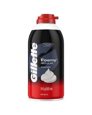 Espuma Para Afeitar Gillette Foamy Regular 312 G Gillette - 1