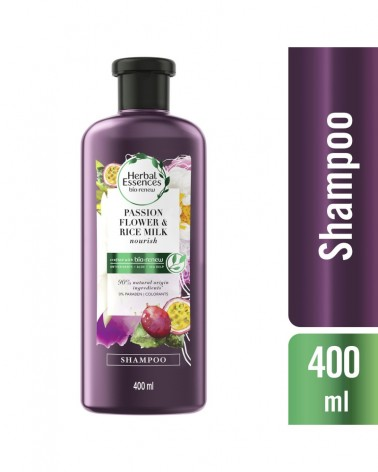 Shampoo Herbal Essences Bío:Renew Passion Flower & Rice Milk 400 Ml Herbal Essences - 1