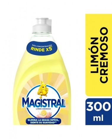 Detergente Sintético Magistral Ultra Limón Cremoso 300 ml Magistral - 1