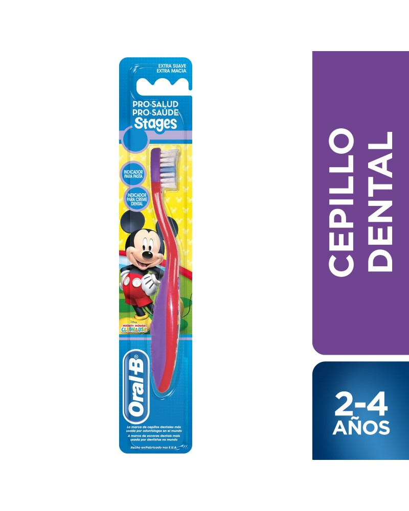 Cepillo Dental Oral-B Pro-Salud Stages Mickey Mouse Oral-B - 1