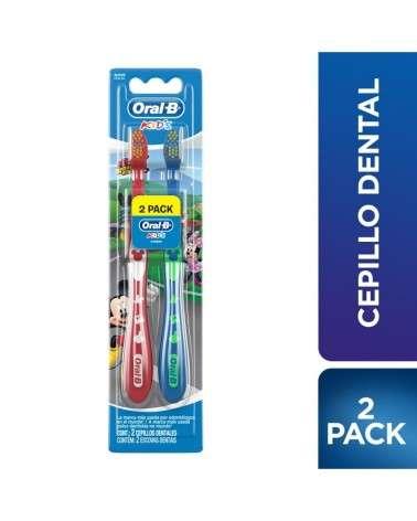 Cepillos Dentales Oral-B Kids Mickey 2 Unidades Oral-B - 1