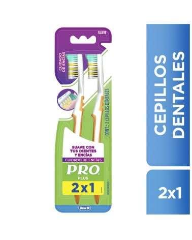 Cepillos Dentales Oral-B Pro Plus Cuidado De Encías 2 Unidades Oral-B - 1
