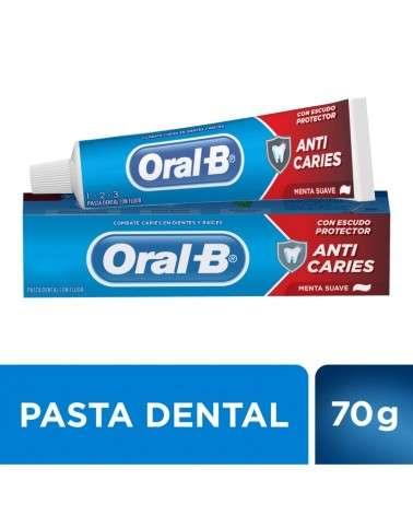 Pasta Dental Oral-B 123 Anticaries Menta Suave 70 G Oral-B - 1