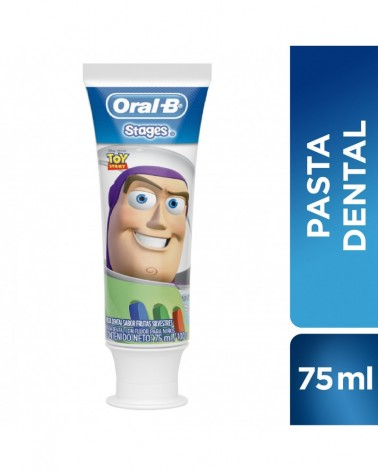 Pasta Dental Oral-B Pro-Salud Stages Toy Story / Jasmin / Goofy 100 g Oral-B - 1