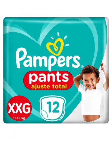 Pañales Pampers Pants Ajuste Total Xxg 12 Unidades Pampers - 1