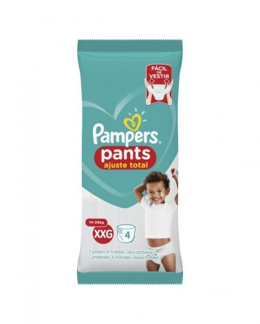 PAMPERS PANTS XXG X 4 PADS Pampers - 2