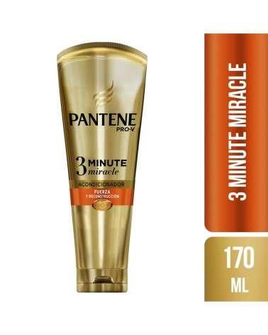 Acondicionador Diario Pantene Pro-V 3 Minute Miracle Fuerza y Reconstrucción 170 ml Pantene - 1