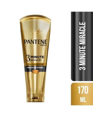 Acondicionador Diario Pantene Pro-V 3 Minute Miracle Hidratación Extrema 170 ml Pantene - 1