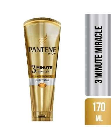 Acondicionador Diario Pantene Pro-V 3 Minute Miracle Liso Extremo 170 ml Pantene - 1