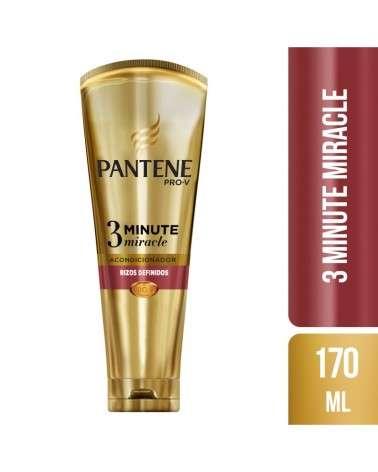 Acondicionador Diario Pantene Pro-V 3 Minute Miracle Rizos Definidos 170 ml Pantene - 1