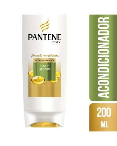 Acondicionador Pantene Pro-V Liso Y Sedoso 200 Ml Pantene - 1