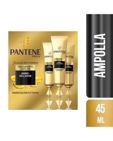 Kit de 3 Ampollas Capilares Pantene Pro-V Hidratación Extrema de 15 ml c/u Pantene - 1