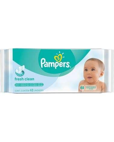 Toallitas Húmedas Pampers Aroma De Bebé 48 Unidades Pampers - 1
