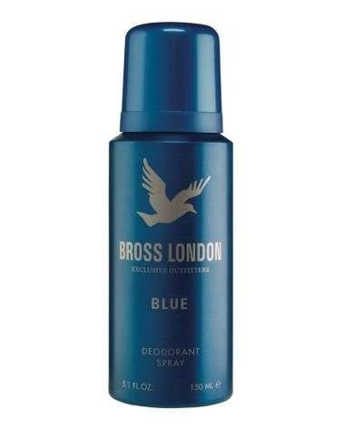 "Bross London Desodorante  En  Aerosol  X 150 Ml Bross London ""Blue""  (Color  Azul) BROSS LONDON - 1"