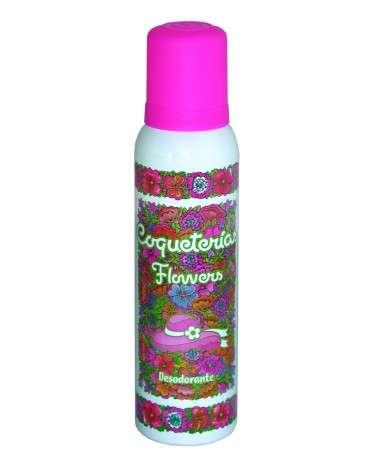 Coqueterias Flowers Desodorante Aerosol X 123 Ml. COQUETERIAS - 1