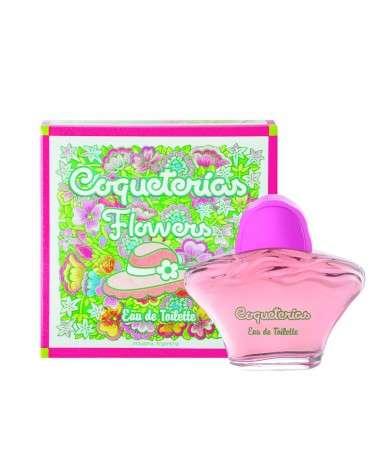 Coqueterias Flowers Eau De Toilette X 80 Ml.  - 1