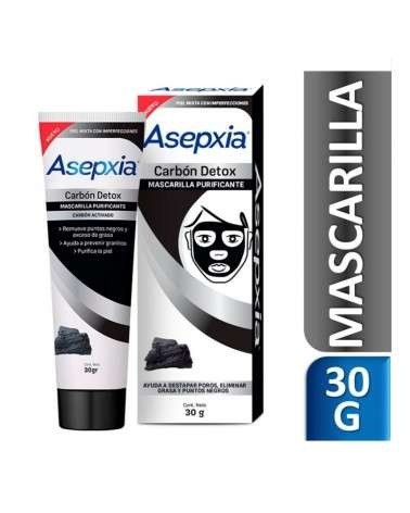 Asepxia Mascarilla Peel Off Carbon 30 gr Asepxia - 1